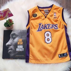 Lakers Kobe #8 Jersey M youth/ S Women's